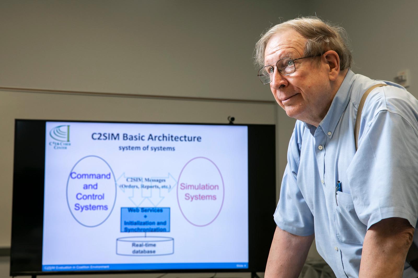 Mark Pullen, computer science professor