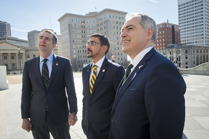 Ralph Northam, Atif Qarni, Ángel Cabrera, Richmond, Virginia